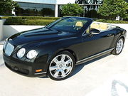 2007 Bentley Continental GT GT GTC Continental Convertible